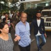 Rajinikanth & Dhanush snapped at Airport