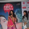 Mallika Sherawat interacts with the audience at the Music Launch of Dirty Politics