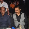 Kamal Haasan and Rajinikanth were snapped at the Music Launch of Shamitabh