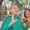 Jaya Bachchan interacts with the audience at the The Vision Eye Center
