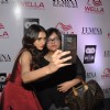 Aditi Rao Hydari clicks a selfie with a fan at the Launch of Femina Salon & Spa Magazine