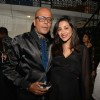Amrita Puri and Narendra Kumar pose for the media at Belvedere Bash