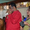 Anurag Basu at the Saraswati Pooja