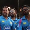 Salman Khan and Suniel Shetty were snapped at Mumbai Heroes Match at CCL