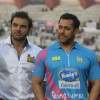 Salman Khan and Sohail Khan was snapped at Mumbai Heroes Match at CCL