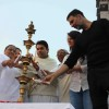 Akshay Kumar lights the lamp at Bramhakumari Sakhi Minithon 2015