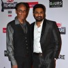 Mithoon was seen with his father at the 60th Britannia Filmfare Awards