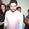 Abhishek Bachchan and Aishwarya Rai Bachchan were snapped at the Special Screening of Shamitabh