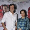 Tisca Chopra and Kay Kay Menon pose for the media at the Promotions of Rahasya