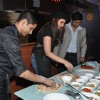 Parineeti Chopra tries her hand at cooking at the Promotions of Te Mugshot Cafe
