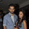 Karan Tacker and Krystle Dsouza pose for the the media at Play 'Unfaithfully Yours'