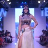 A model walks for Soniya Gohil at India Beach Fashion Week Finale