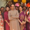 Thackeray Family poses for the media at Rahul Thackeray's Wedding Ceremony