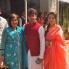 Soni Niigam with wife Madhurima at Rahul Thackeray's Wedding Ceremony