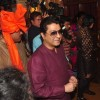 Raj Thackeray was snapped at Rahul Thackeray's Wedding Ceremony