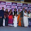 Team poses for the media at the Launch of the Show Gangaa