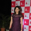 Aditi Gowitrikar poses for the media at 3rd Annual Charity Fundraiser Art Exhibition