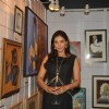 Lisa Ray poses for the media at 3rd Annual Charity Fundraiser Art Exhibition