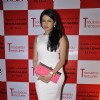 Bhagyashree Patwardhan poses for the media at Maheka Mirpuri's New Collection Launch