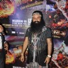 Gurmeet Ram Rahim Singh poses for the media at the Premier of MSG: The Messenger of God