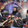 Gurmeet Ram Rahim Singh gives media bytes at the Premier of MSG: The Messenger of God