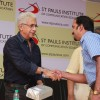 Naseeruddin Shah being felicitated at the Launch of Stpaulsice.com