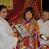 Dolly Bindra was felicitated at the Inauguration of a Unique 40 Feet Shivling