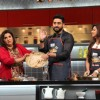 Abhishek Bachchan and Alia Bhatt on Farah Ki Daawat