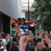 Amitabh Bachchan Celebrates India's Victory With Fans