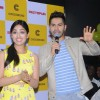 Varun Dhawan interacts with the audience at the Launch of the Biggest Crossword Bookstore