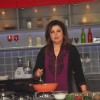 Farah Khan was snapped cooking at the Launch of Farah Ki Daawat