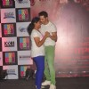 Varun Dhawan shakes a leg with a fan at the Promotions of Badlapur at R City Mall