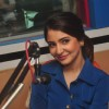 Anushka Sharma smiles for the camera at the Promotions of NH10 at Red FM