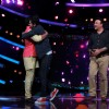 Aditya Narayan welcomes Ayushmann and Anu Malik on Sa Re Ga Ma Pa Li'l Champs 5