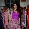 Tanishaa Mukerji poses for the media at Mineralini Collection Launch