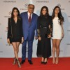 Boney Kapoor poses with family at Stefano Ricci Launch in India