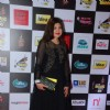 Alka Yagnik  poses for the media at Radio Mirchi Awards