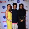 Celebs pose for the media at Filmfare Glamour and Style Awards