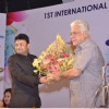 Om Puri was felicitated at the IFFP 2015 Award Ceremony