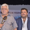 Om Puri and Tigmanshu Dhulia were snapped at the IFFP 2015 Award Ceremony