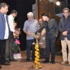 Om Puri lights the lamp at the IFFP 2015 Award Ceremony