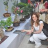Suzanne Khan was snapped at the Inauguration of Exotic Bonsai Exhibition