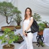 Suzanne Khan poses for the media at the Inauguration of Exotic Bonsai Exhibition