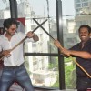 Karan Mehra and Sharib Hashmi strike a quirky pose at the Press Conference of Badmashiyaan