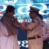 Amitabh Bachchan felicitated at the Road Safety Awareness Campaign by Thane Traffic Police