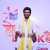 Arjun Kapoor poses for the media at Rang Barse Life OK Ke Sang