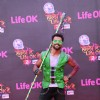 Rithvik Dhanjani poses for the media at Rang Barse Life OK Ke Sang