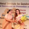 Rani Mukherjee Felicitated by the National Institute of Gender Justice