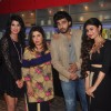 Celebs pose for the media at Farah Ki Daawat