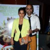 Sugandha Garg and Raghu Ram pose for the media at the Premier of Coffee Bloom
